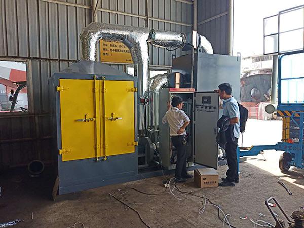 东莞1万风量CO炉废气处理工程