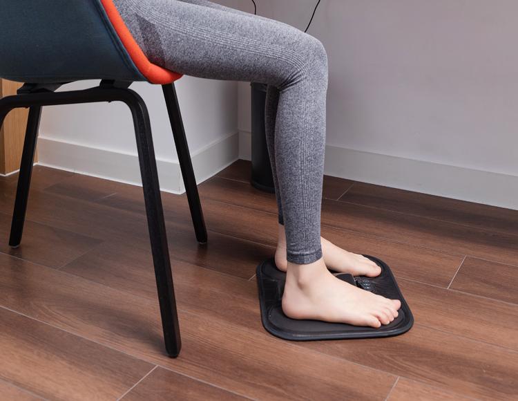 EMS加热按摩脚垫