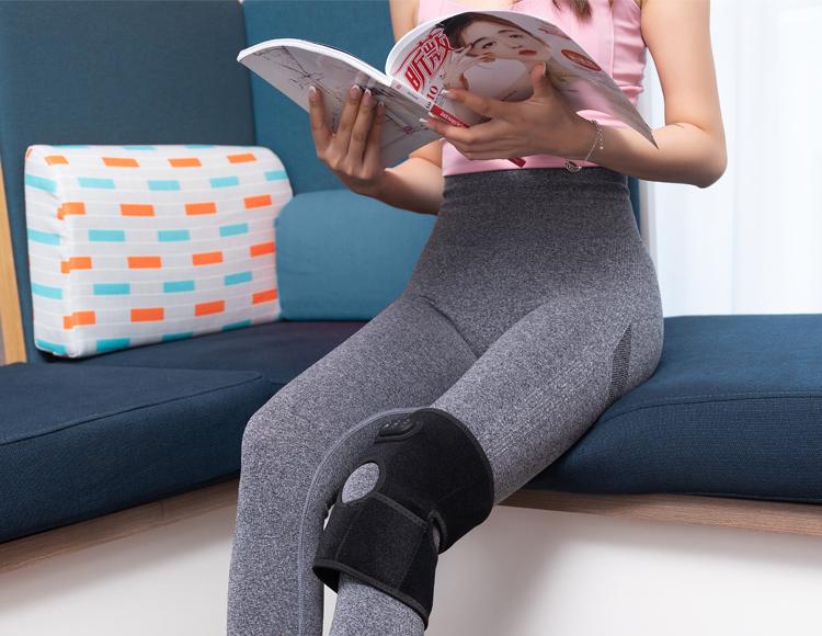 电动加热按摩护膝