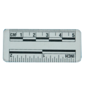 比例尺,5厘米白色磁性比例尺
