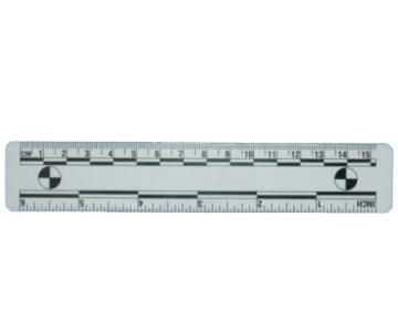 15厘米白色磁性比例尺