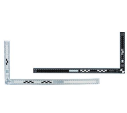 45×18厘米雙面黑白直角比例尺
