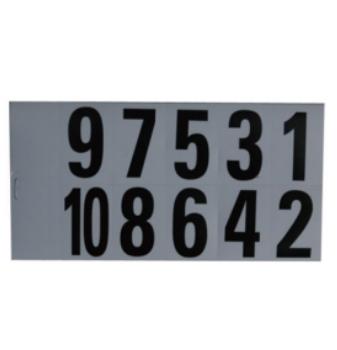 不干膠數字號碼本