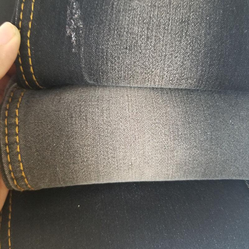 柏比宏紡織品_彩色底竹節彈力牛仔面料廠家生產加工_人造_斜紋洗水