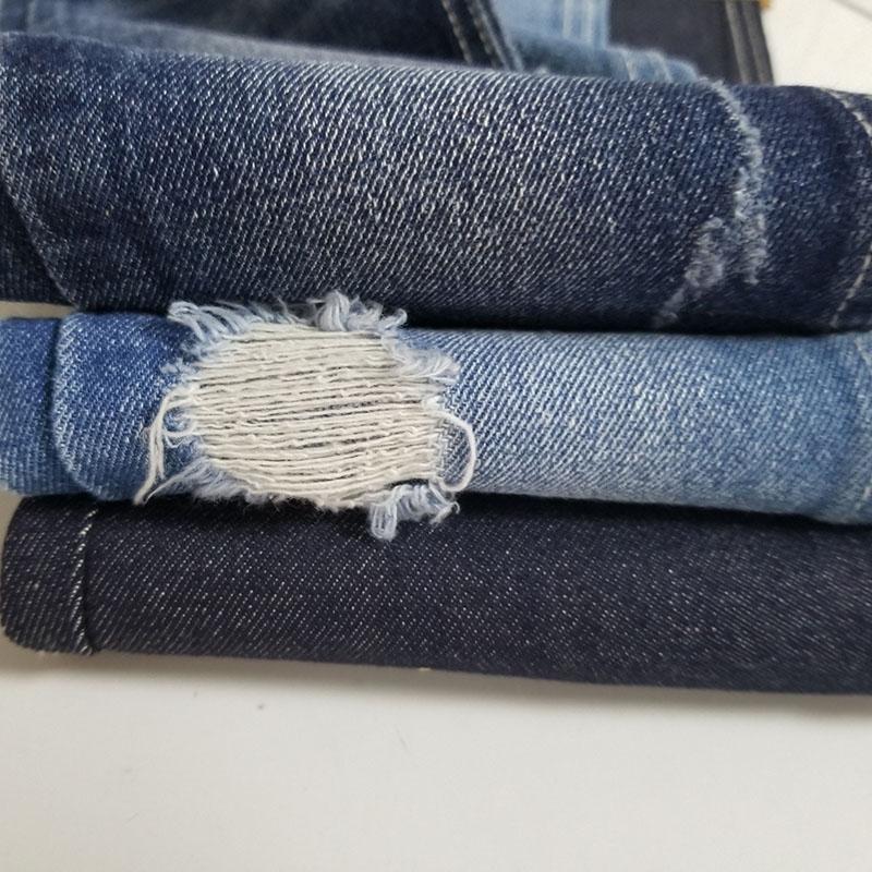 女士_染色无弹牛仔布报价_柏比宏纺织品