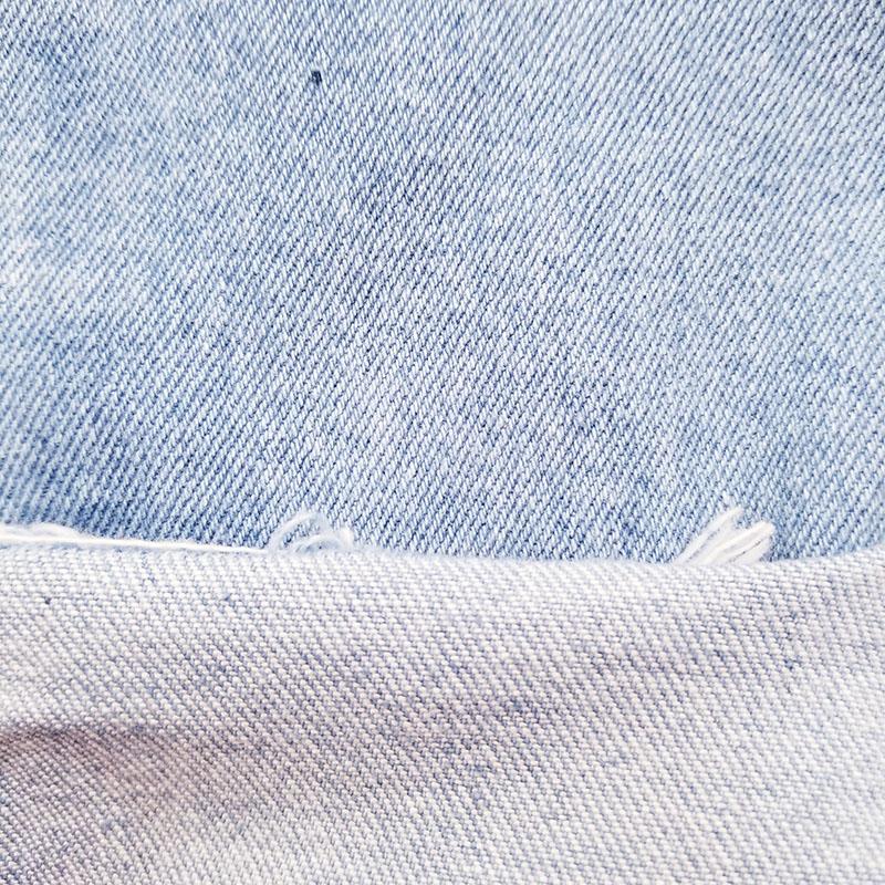 防缩全棉无弹牛仔布生产加工_柏比宏纺织品_黑色_经典_新款_破洞