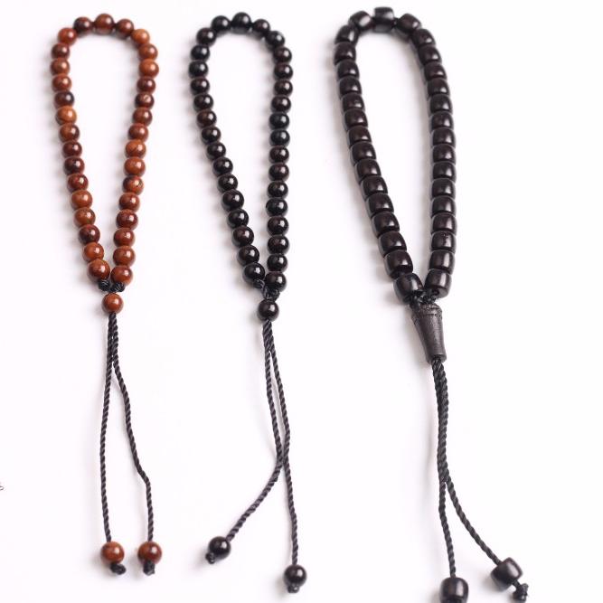 2018 Fashion kuka wood bead bracelet