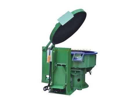 工厂供应自动出料振动研磨机,无需人工挑选,可自己分料