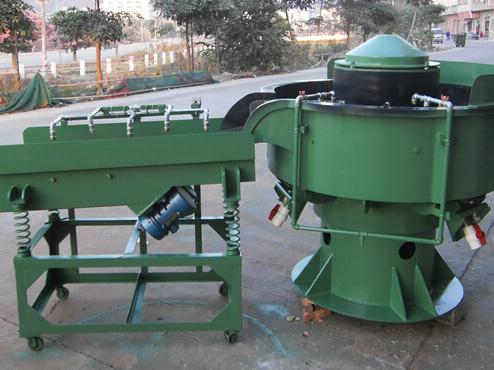 低价供应 三元次振动光式机350型 东莞研磨机 去毛刺机 可定制
