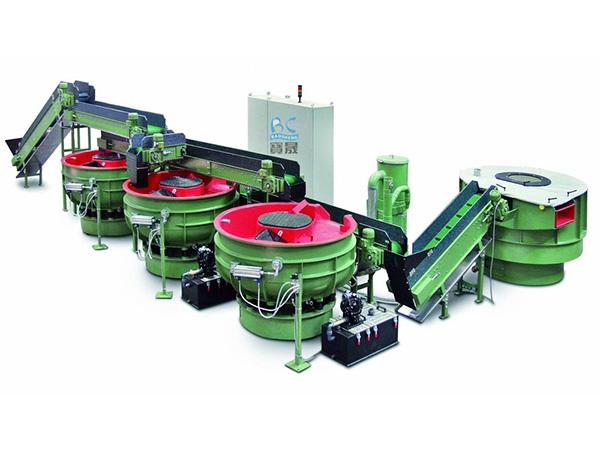 震动研磨机 振动研磨抛光机 自动分选研磨机 三次元螺旋式研磨