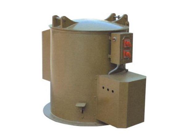 东莞D型落地式五金热风脱水烘干机.电镀厂离心脱油甩干机