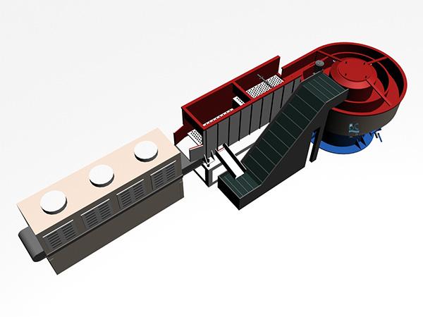 供应全自动流水线振动研磨流水线、振动研磨抛光机(免费试样)