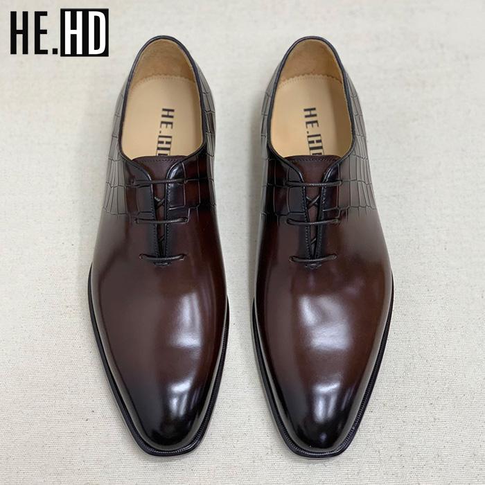 男士鞋履 咖啡色