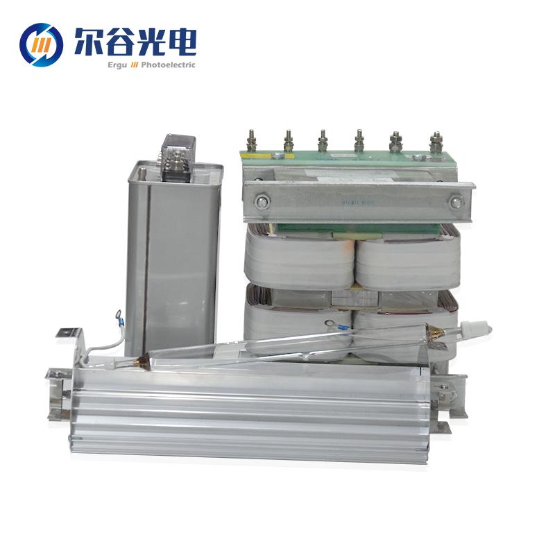 傳統變壓器+電容UV固化系統