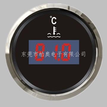数显水温表 12V/24V带背光灯 黑色