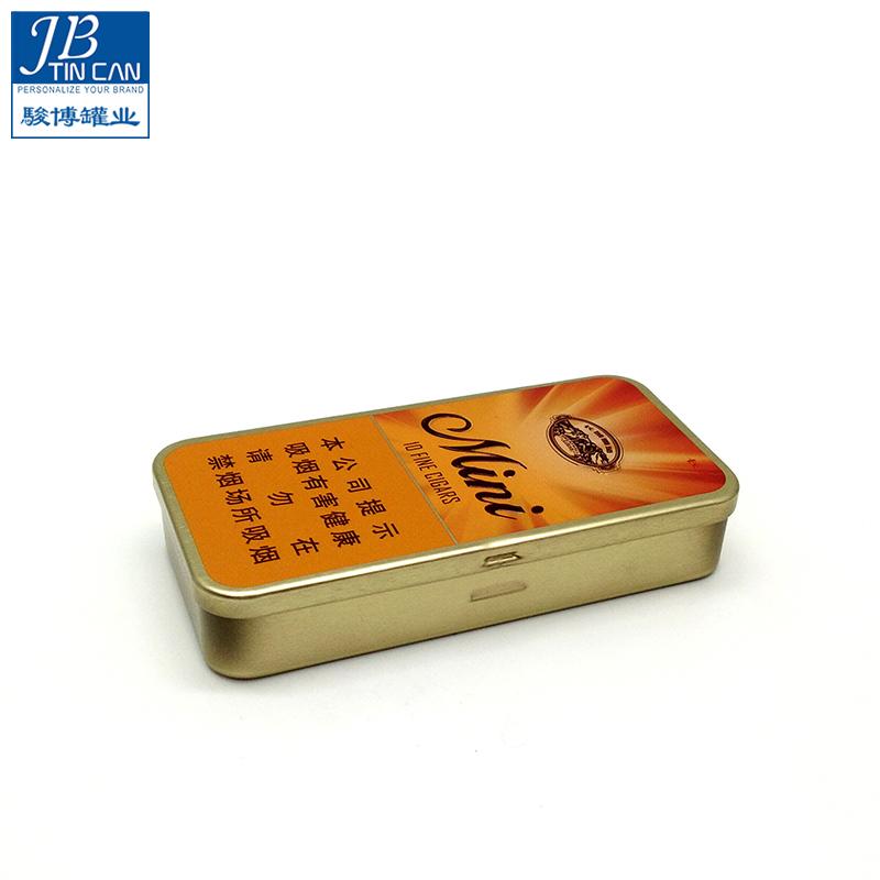 可爱长方罐实力厂家_骏博罐业_异形_个性_现模_彩色印刷_铁质