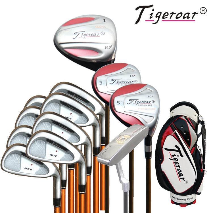 Tigeroar正品 高尔夫球杆 act款男士套杆 限时折扣 区域包邮