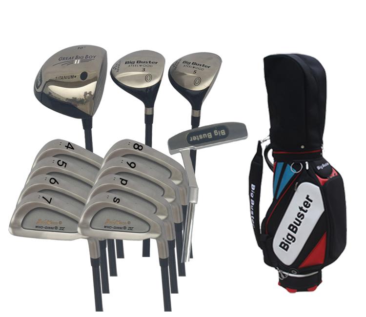 正品BigBuster(BB) 高尔夫男士套杆 出口高尔夫球杆 低价促销