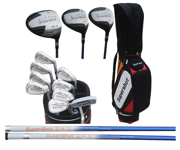 正品SuperShot(SS) 高尔夫男士套杆 出口高尔夫球杆 低价促销