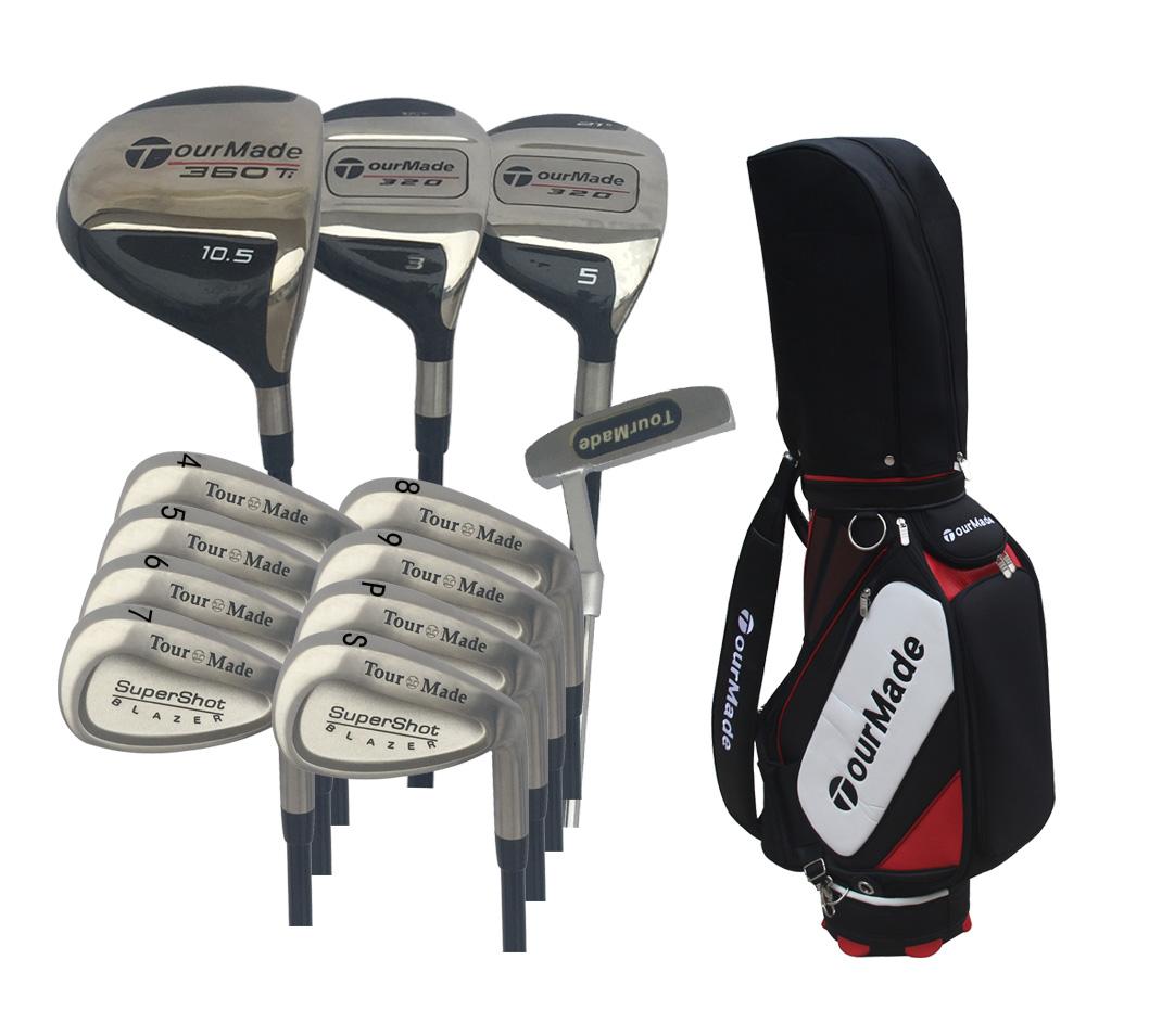 TourMade正品套杆高尔夫初学者球杆男士套杆 限量版套杆 活动包邮