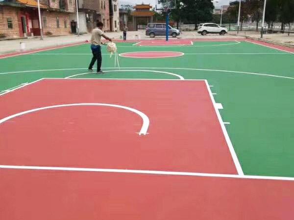 丙烯酸篮球场工程