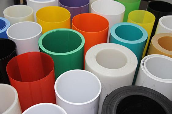 黄埔白色PP片材供应商 长圣塑料 蓝色 柯印 耐寒 环保 黑色