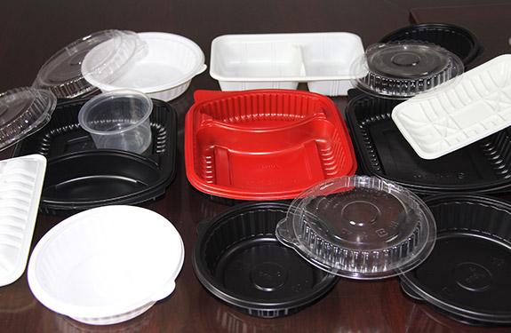 番禺環保餐盒供應商 長圣塑料 耐寒 防靜電 黑色 高光 耐曲