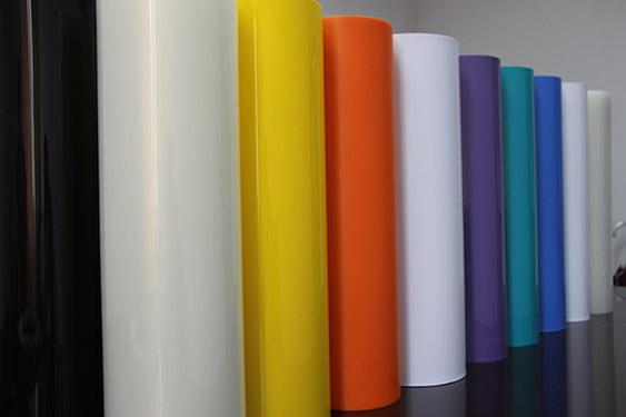從化導電PP片材 長圣塑料 可絲印 藍色 阻燃 高透明 高光