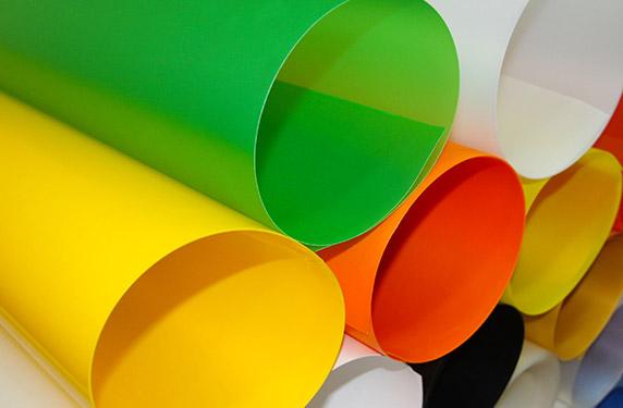 從化PP片材生產廠家 長圣塑料 紅色 黃 彩色 耐折 磨砂 耐磨