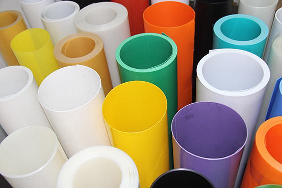 龙岗耐磨PP片材 长圣塑料 抗低温 白色 耐折 红色 印刷 磨砂