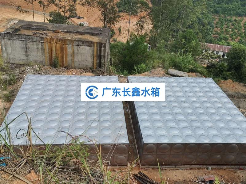 广西梧州 养殖生活水箱 400吨