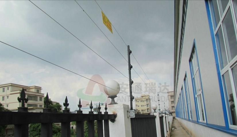 内蒙古脉冲电子围栏 周界安防厂家安通瑞达