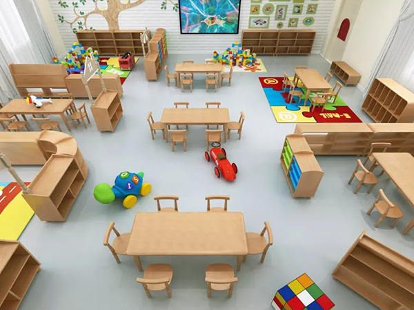 室内课桌椅
