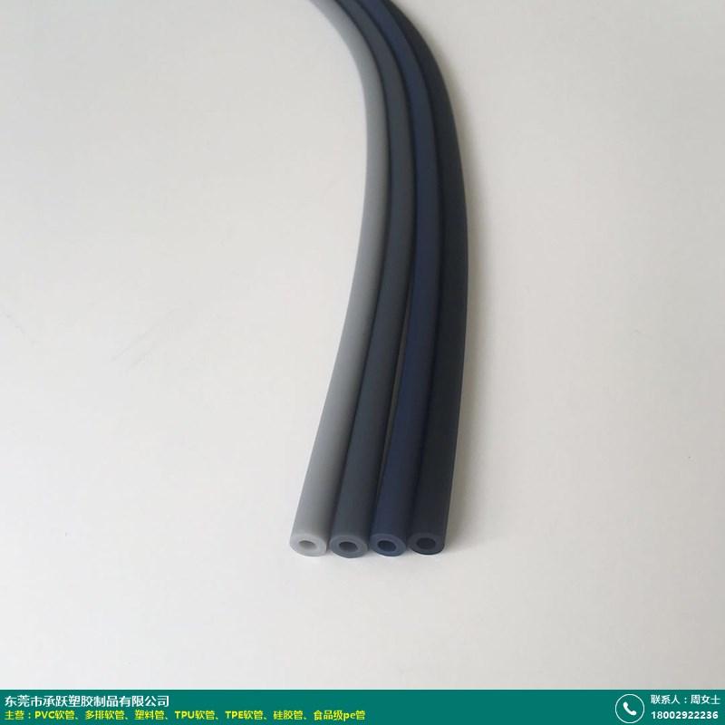 三排pvc塑料软管定制_承跃塑胶_多色_双孔_弹性_水枪_六排