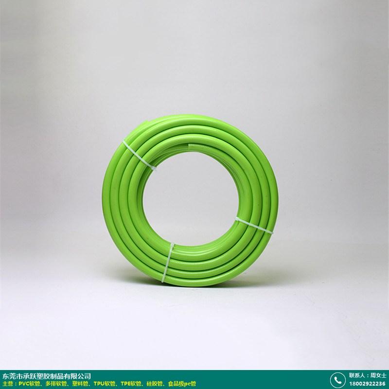 西安PVC软管_承跃塑胶_无毒_五排_袖带_排水_黑色_花洒