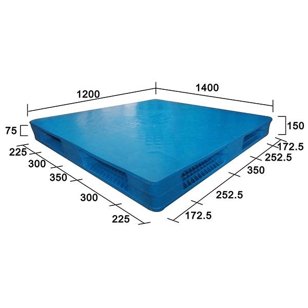 1412平板雙面吹塑塑膠托盤