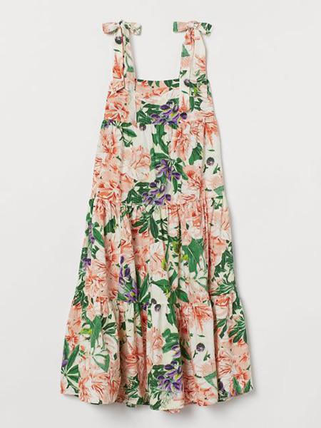 棉质连衣裙