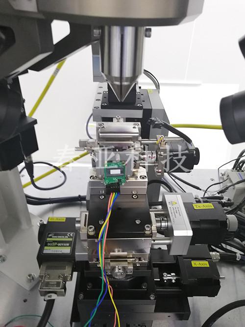 光模塊三槍焊接機4工位自動焊接工裝