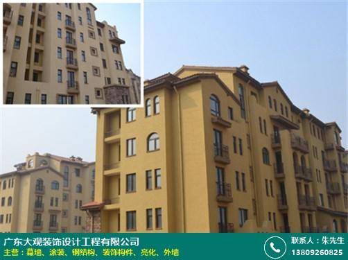 黄江外墙涂装翻新 大观装饰
