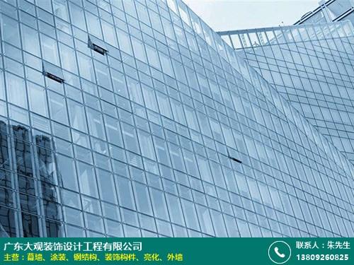 南沙建筑幕墻深化出圖 大觀裝飾 鋁單板 玻璃 陶瓷板 鋁板 建筑