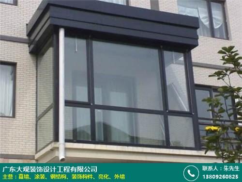 荔灣玻璃幕墻工程 大觀裝飾 陶瓷板 鋁單板 建筑 玻璃 專業