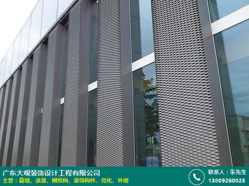 南沙幕墻定制 大觀裝飾 鋁板 專業 陶瓷板 玻璃 石材 鋁單板