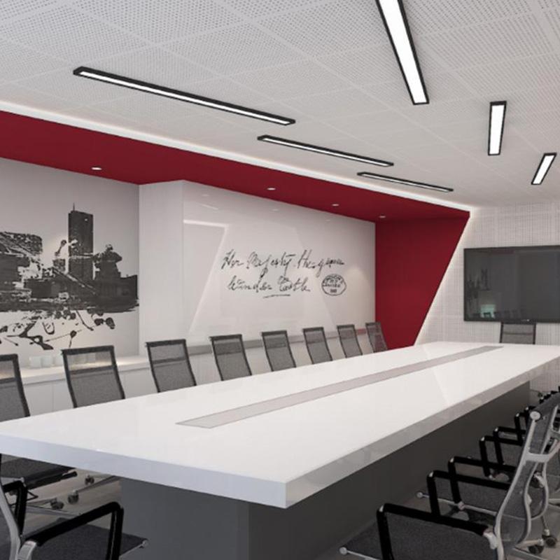 办公室装修效果_大海_IT公司_简约_互联网公司_CEO