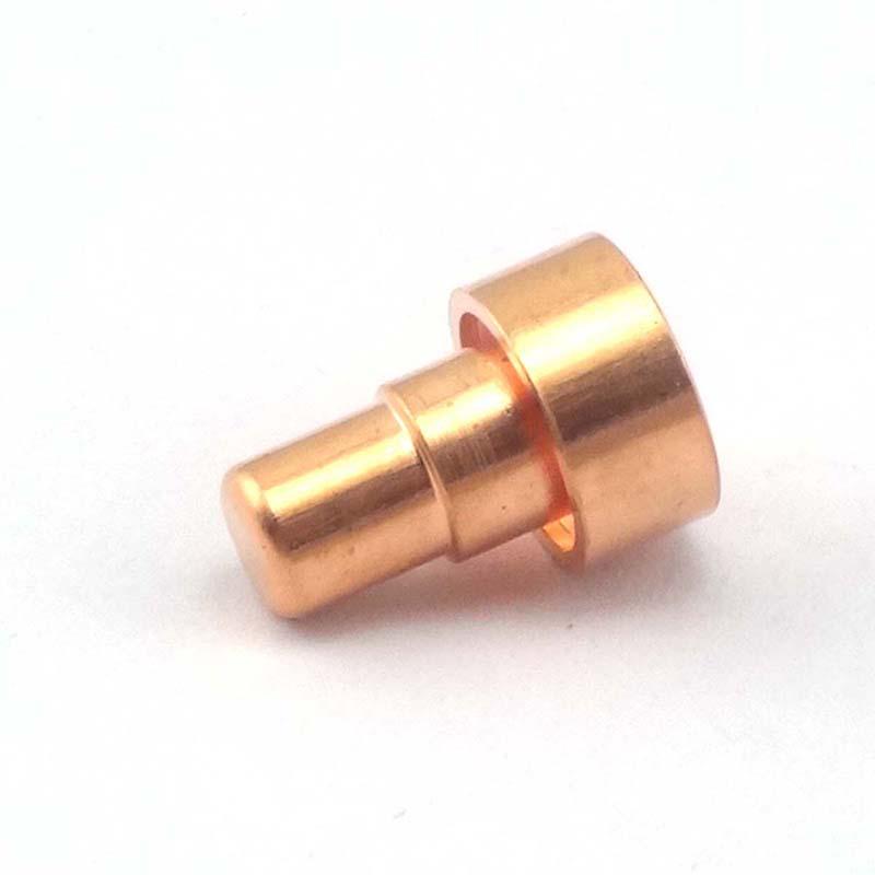 達金五金_杭州指紋鎖電機齒輪驅動軸自動車床加工_智能鎖芯空心柱