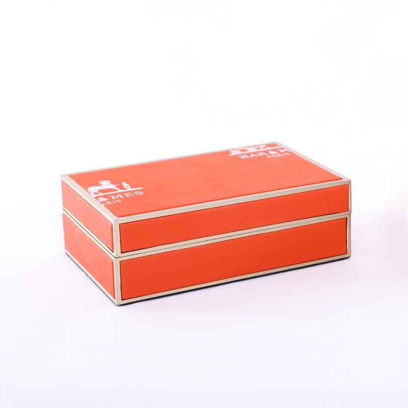 大森工藝_手工工藝_玻璃噴繪真皮歐式首飾盒良心廠家