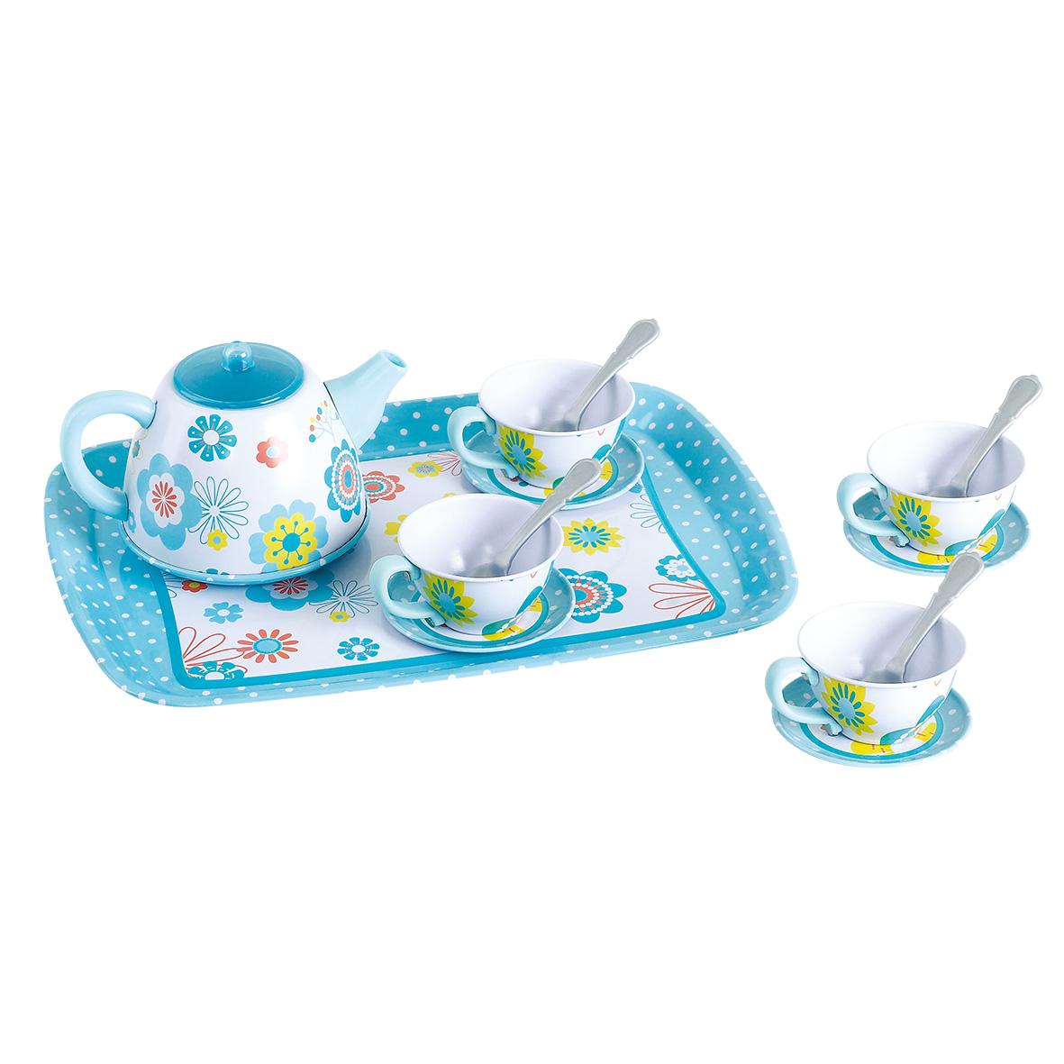 6842P印花鐵茶具