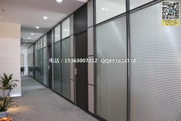 乐昌双层玻璃隔断,乐昌百叶隔断,乐昌玻璃隔墙办公室百叶隔断价格