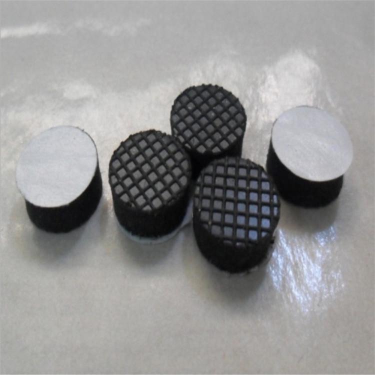網格橡膠墊 自粘格紋底座防滑墊 橡膠硅膠墊片 格紋硅膠防震腳墊