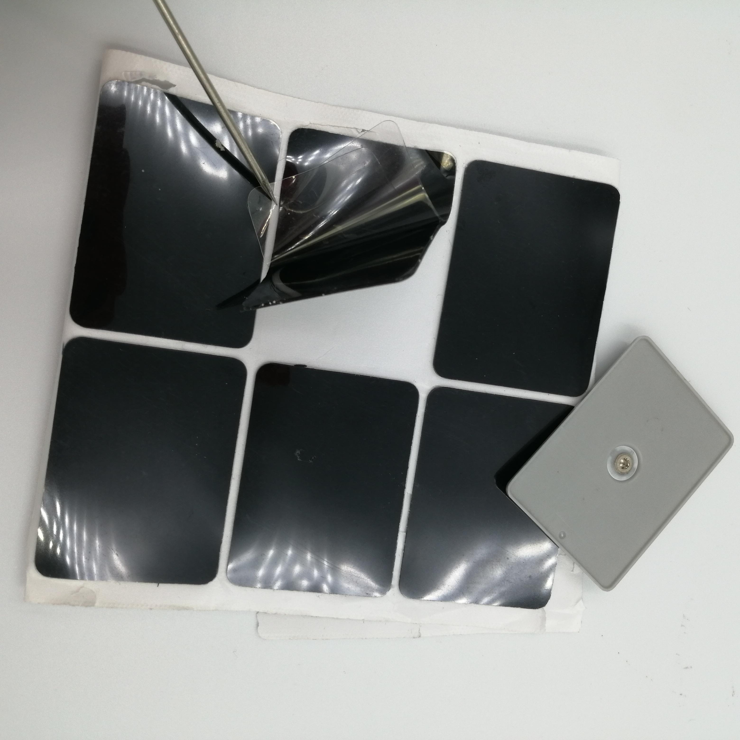 廠家直銷強粘納米雙面膠黑色無痕反復水洗可移膠支持定制不同規格