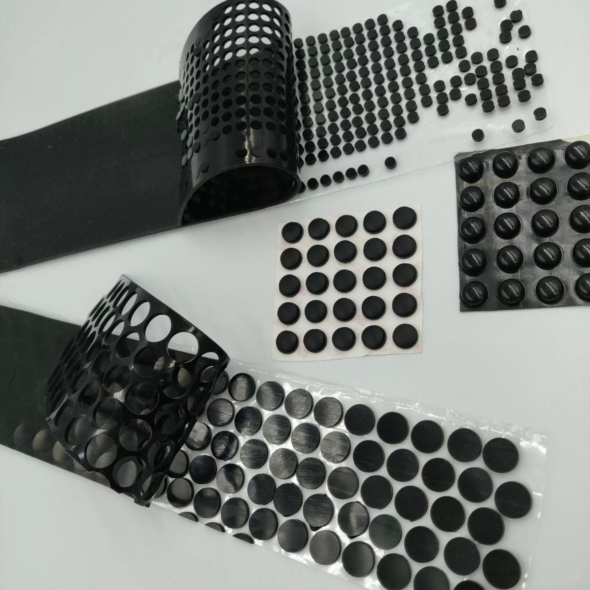 硅膠墊 食品級透明硅膠墊片 自粘圓形硅膠腳墊 桌面支架硅膠墊